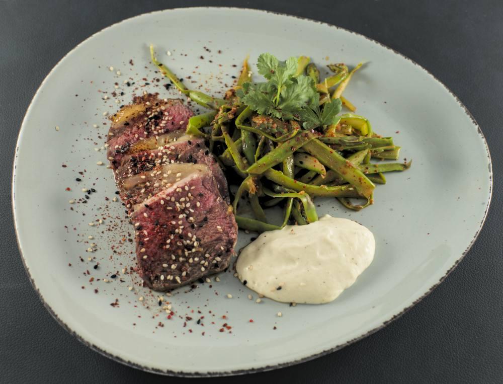 Spargel-Kimchi | Roastbeef | Spargel-Mayonnaise