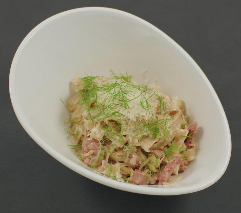 Pasta | Salsiccia | Fenchel | Sahne-Sauce