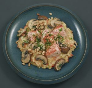 Read more about the article Risotto | Lachs | Champignons