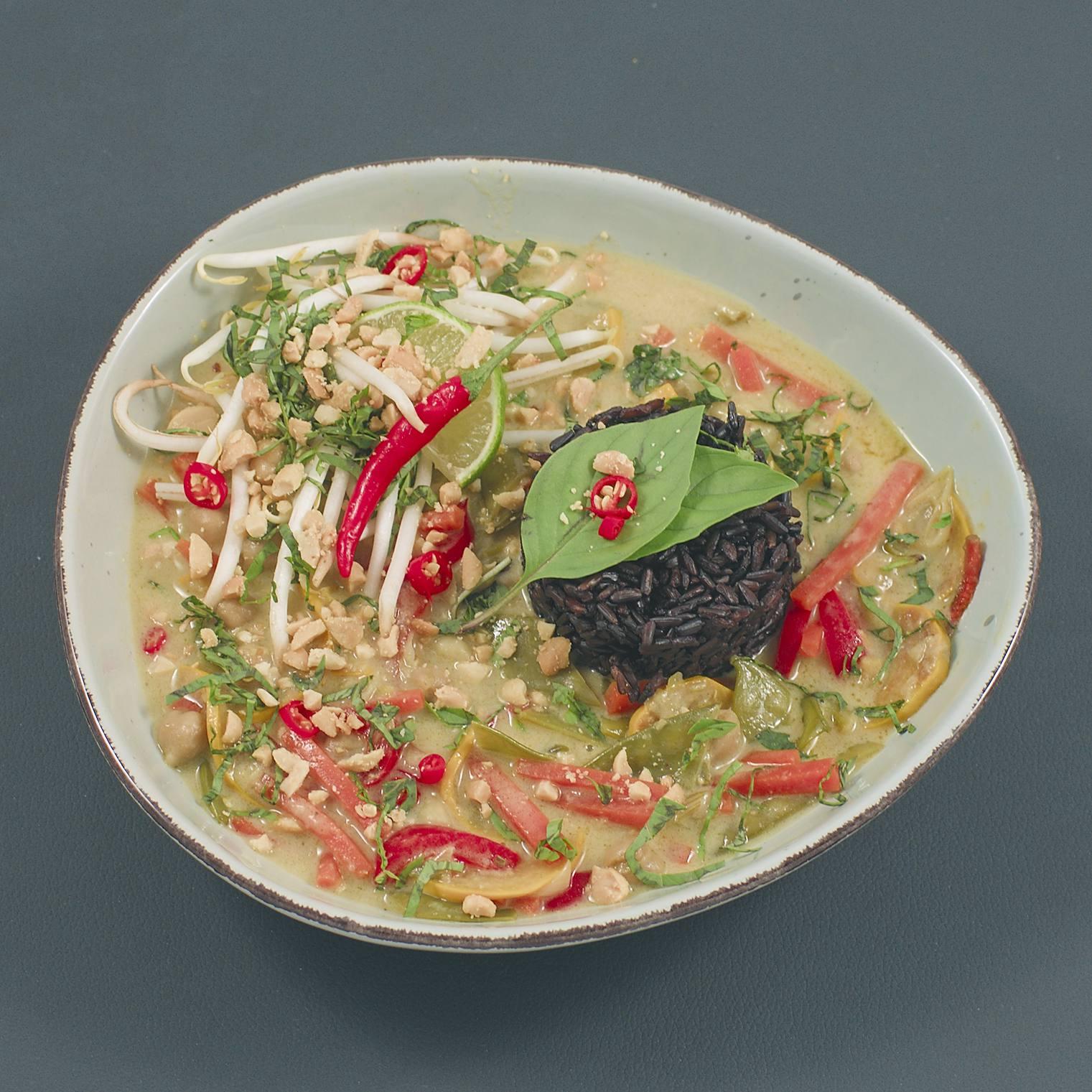 Grünes Thai-Curry | Gemüse