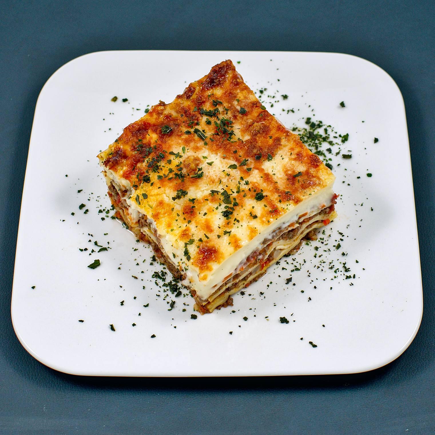 Lasagne | Reh-Ragout | Béchamel | selbstgemachte Lasagneblätter
