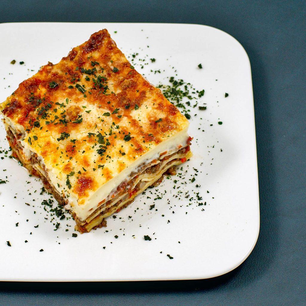 Lasagne mit Reh-Ragout