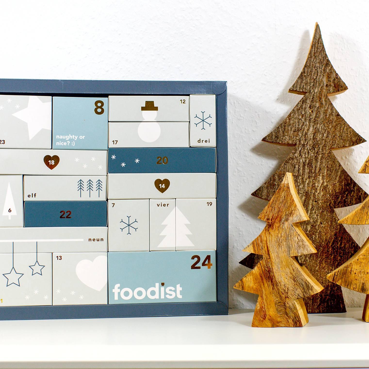 Weihnachts-Countdown 2020 || Foodist Adventskalender