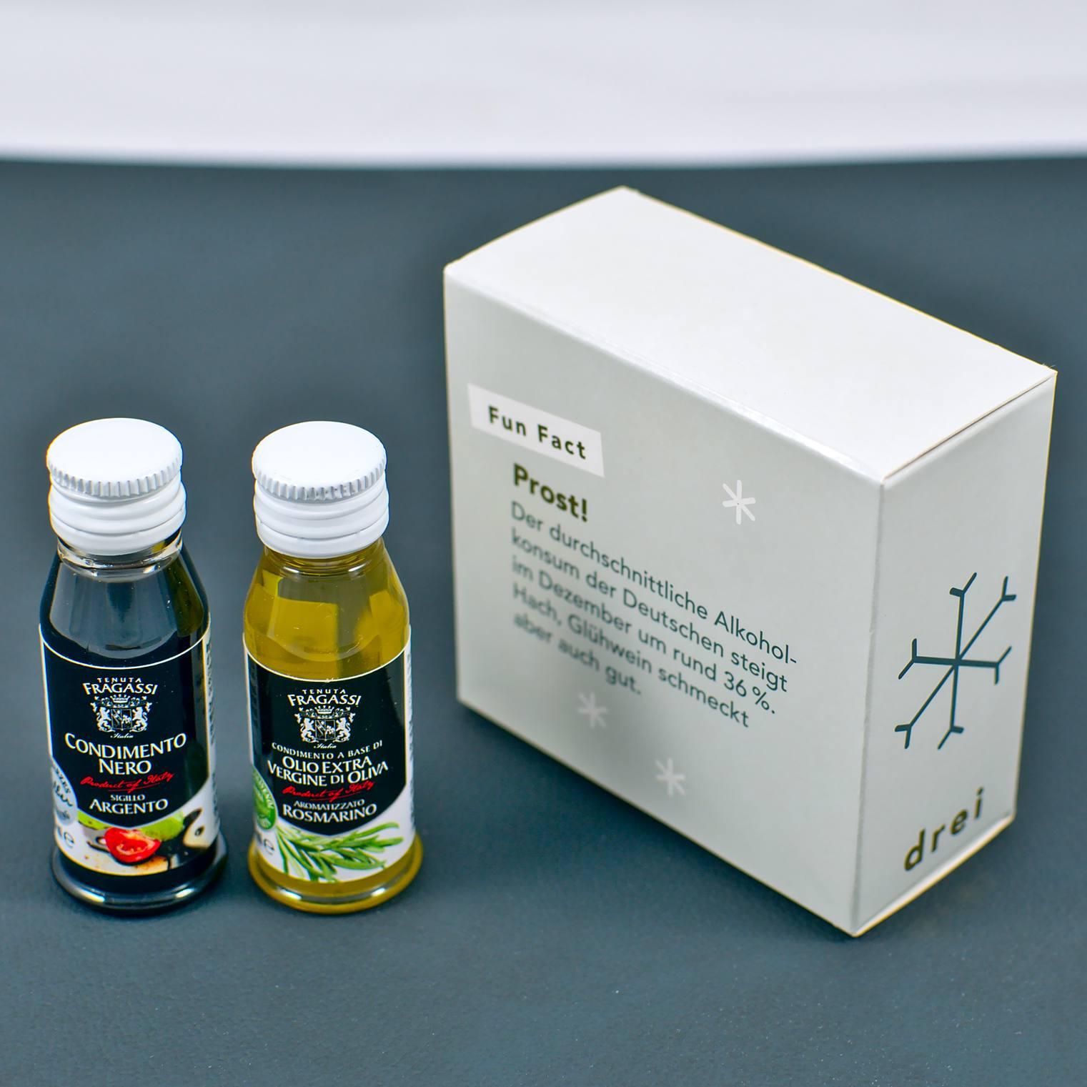 Natives Olivenöl Extra mit Rosmarin von Tenuta Fragassi   3. Türchen