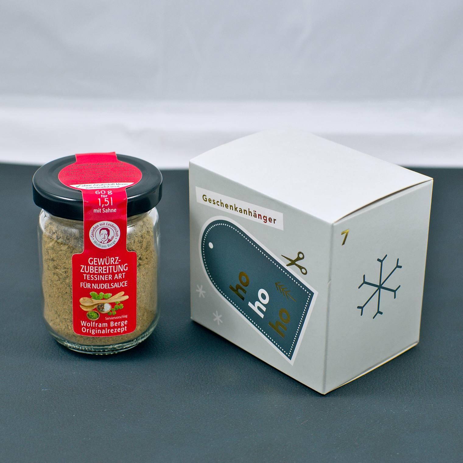 Gewürzzubereitung – Tessiner Nudelsauce   7. Türchen