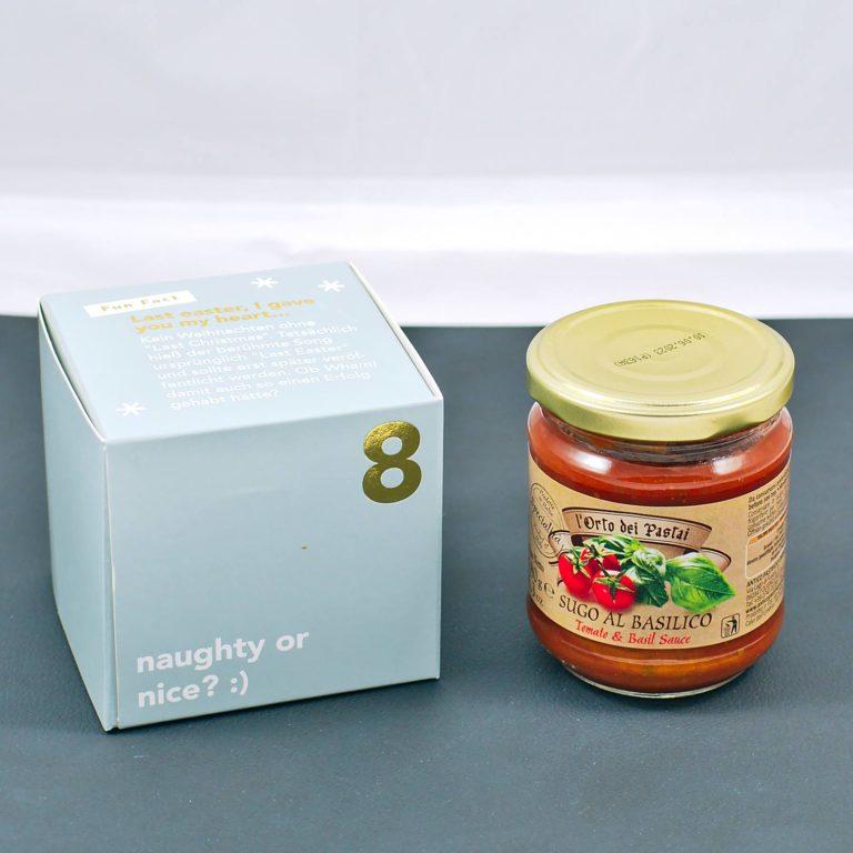 Read more about the article Tomaten & Basilikum Sauce von Antico Pastificio Umbro | 8. Türchen