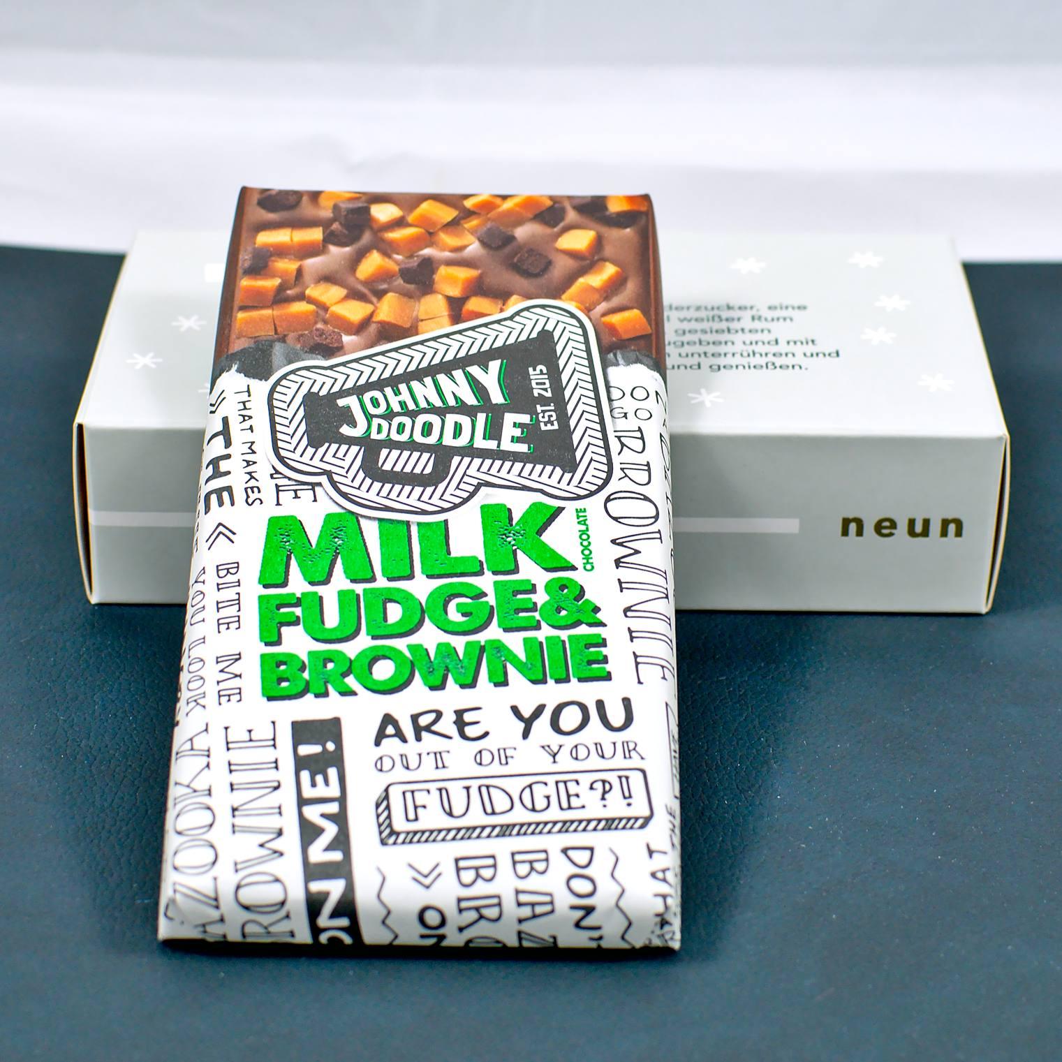 Milk Fudge & Brownie Schokolade   9. Türchen