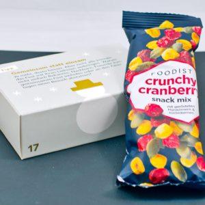 Read more about the article Crunchy Cranberry Snack Mix Maiskörner & Kürbiskerne   17. Türchen